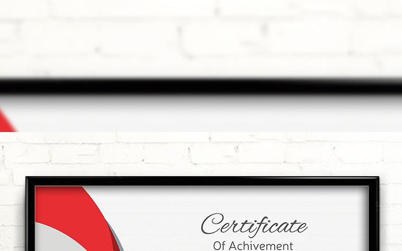 Vintage Elegant Certificate Template
