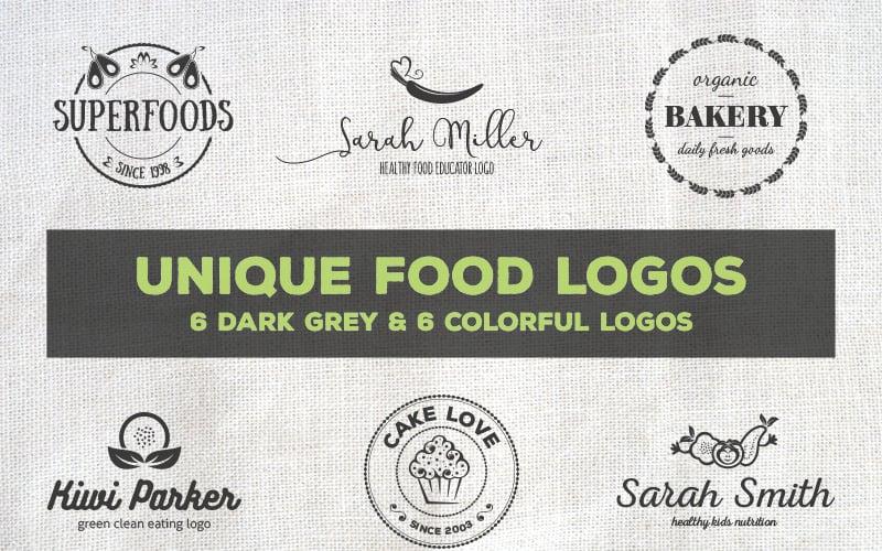 Unique Food Logos - Bundle Logo Template