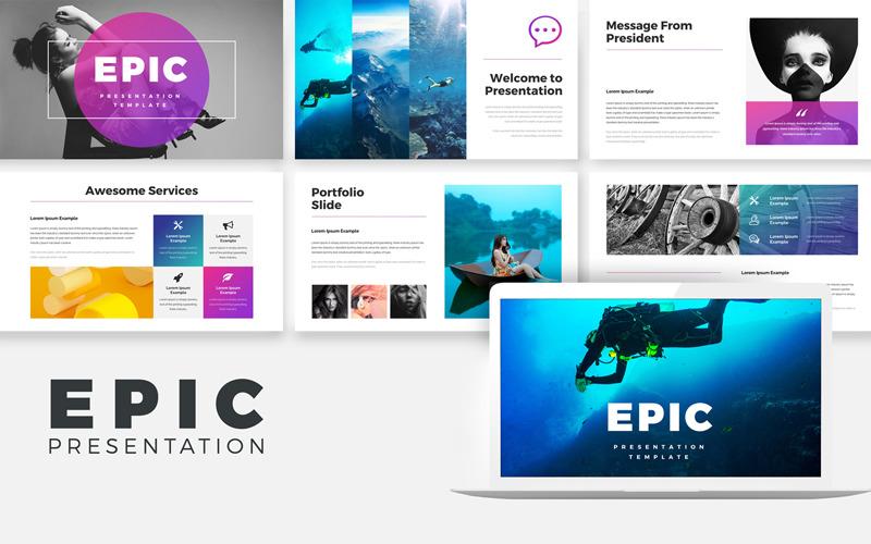 Présentation EPIC - Modèle Keynote