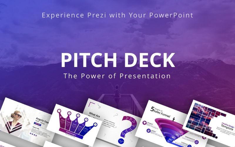 Plantilla de PowerPoint - plataforma de lanzamiento