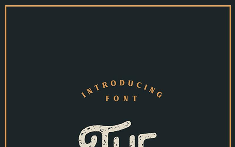 Monokill - Vintage Font