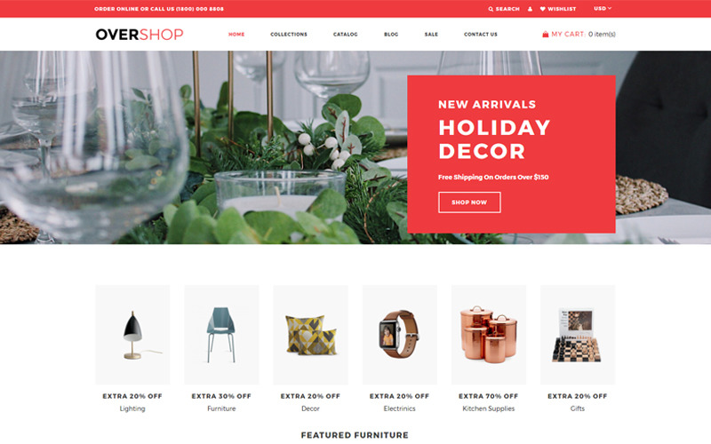 Overshop - Partihandel Modernt Shopify-tema