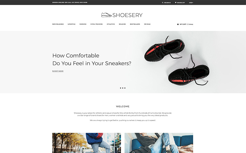 Shoesery - Shoe Store Clean Shopify