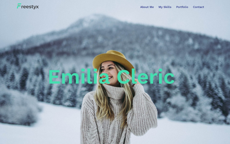 Freestyx - Freelancer One Page Modern WordPress Elementor Theme