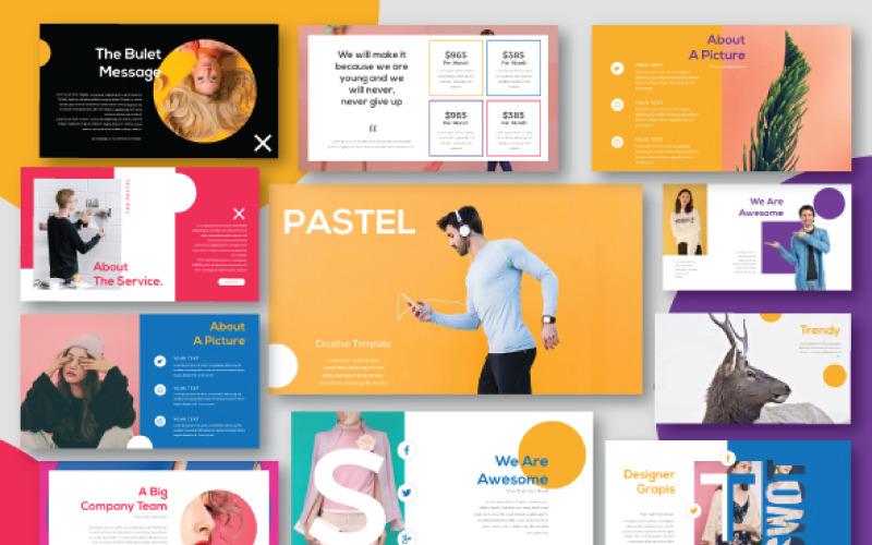 Pastel - modelo Keynote