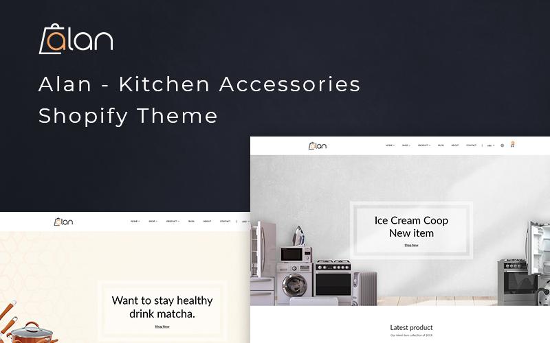 Алан - Тема Shopify для кухни
