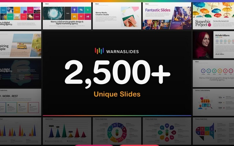 Warna Slides - For Business, Startup, Creative Agency PowerPoint Template