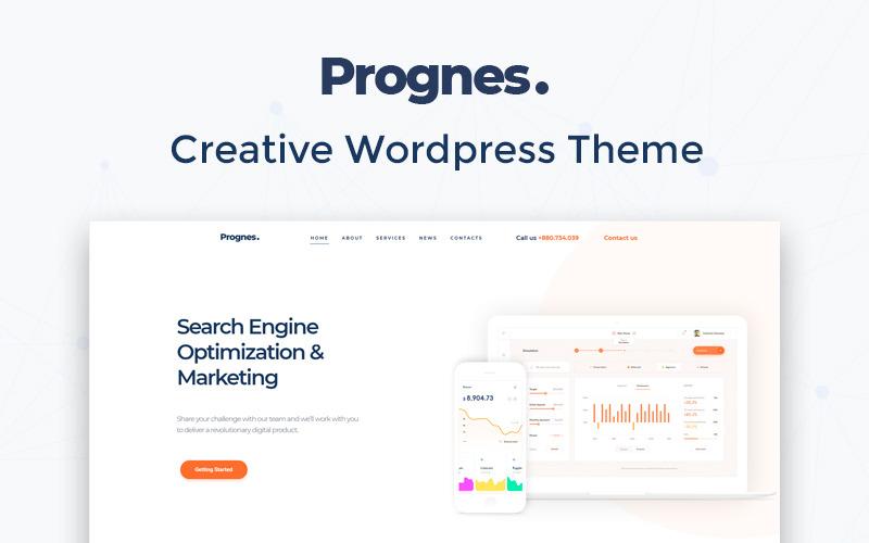 Prognes - Consultoria Multipurpose Clean WordPress Elementor Theme