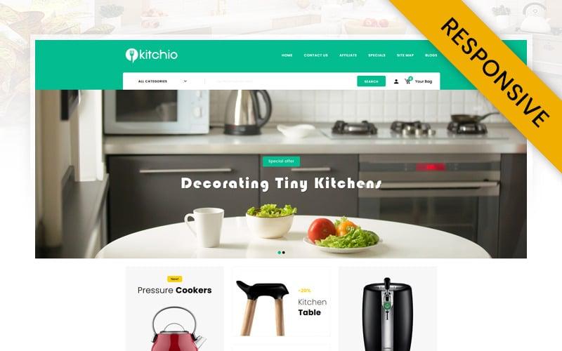 Kitchio - Kitchen Store OpenCart Template