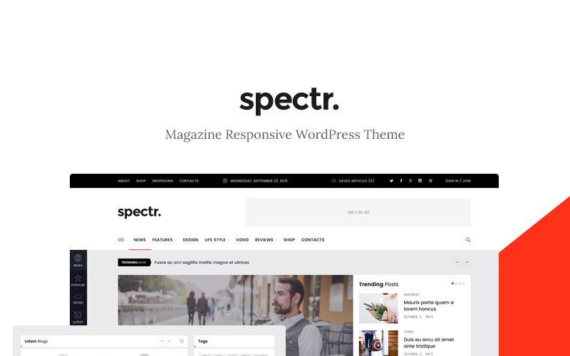 Spectr - тема WordPress для журналов и блогов