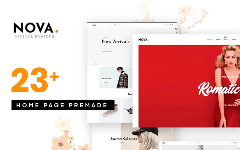 Nova - Mode PrestaShop-thema