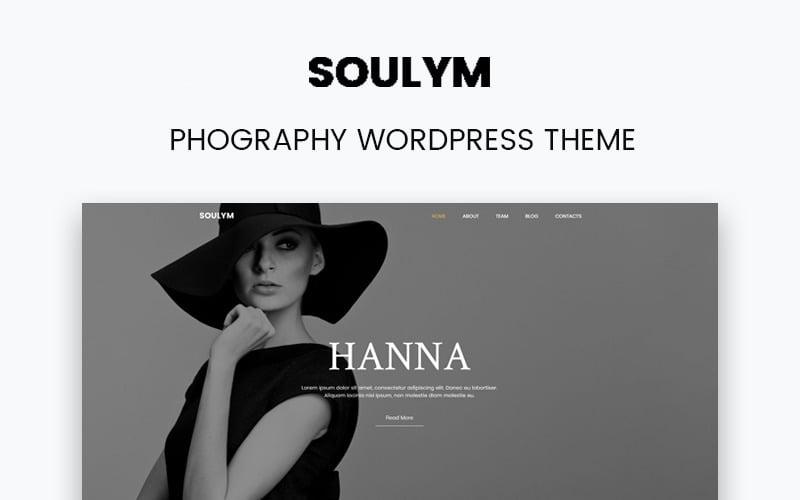 Soulym - fotózás többcélú, modern WordPress Elementor téma