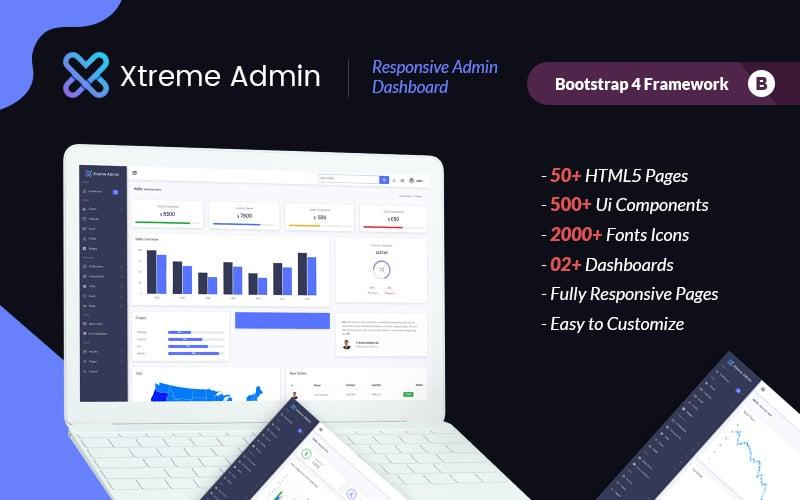 Xtreme Dashboard Admin Template