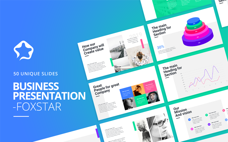 Foxstar- Modern Business PowerPoint Template