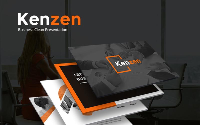 Kenzen PowerPoint Template