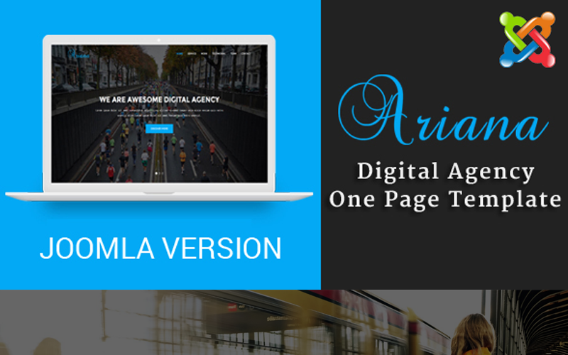 Ariana - Digital Agency One Page Joomla Template