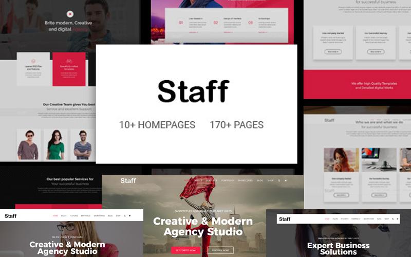 Staff - Responsive Business Joomla Template