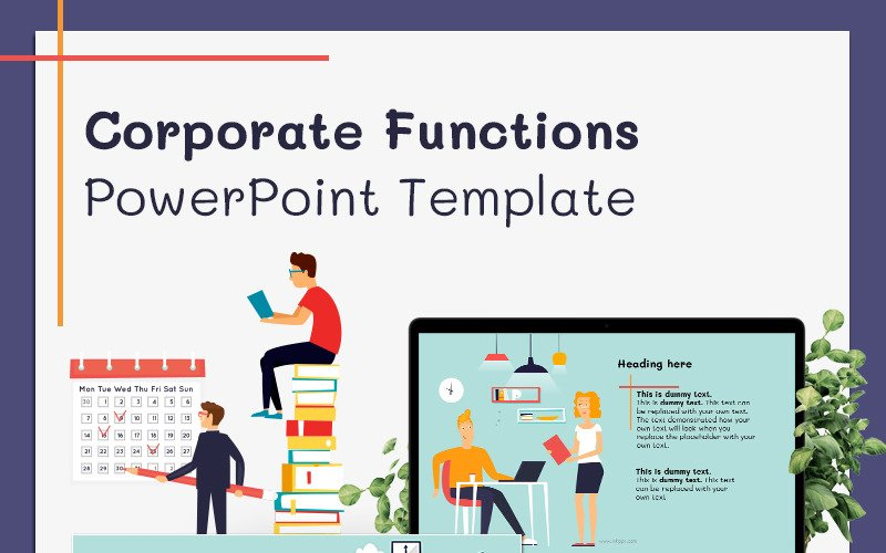 Corporate Functions PowerPoint Template