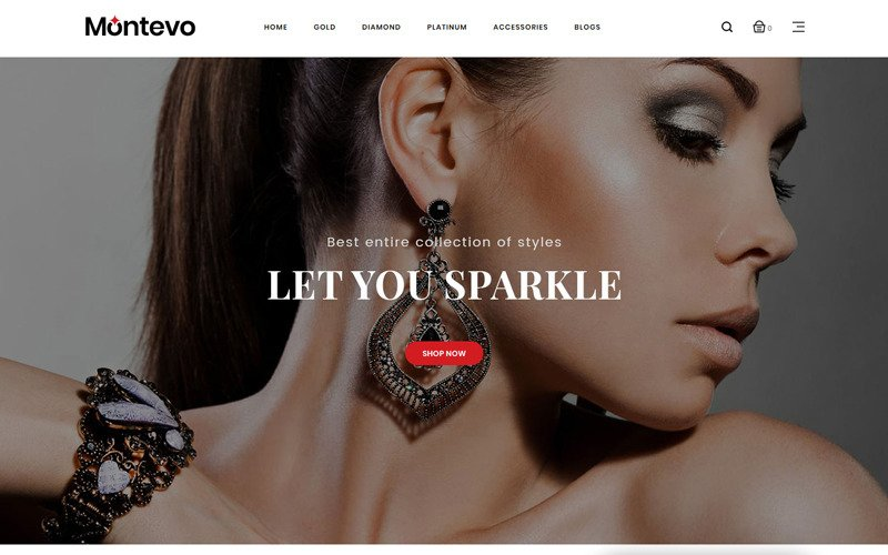 Montevo - Jewelry Stores OpenCart Template