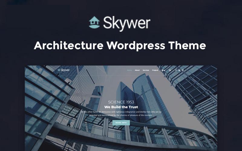 Skywer - Многофункциональная современная тема WordPress Elementor с архитектурой