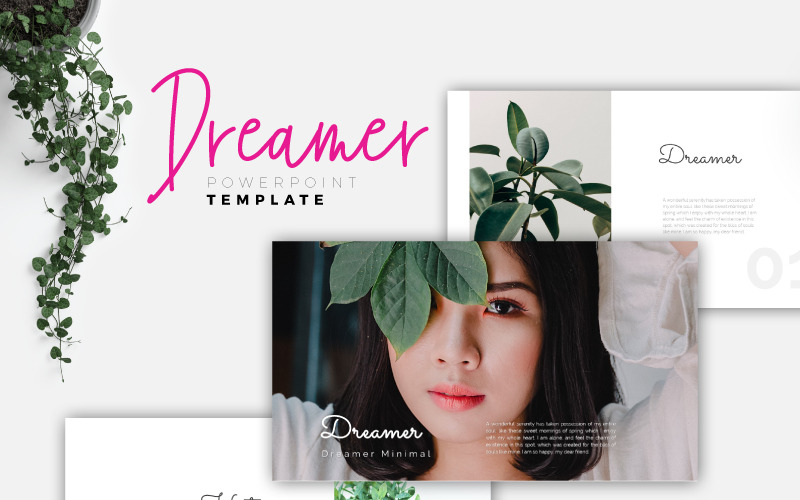 DREAMER - Creative PowerPoint Template