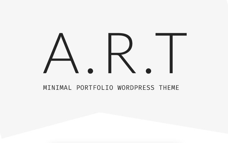 Artis - Minimal Portfolio & Shop WordPress Theme
