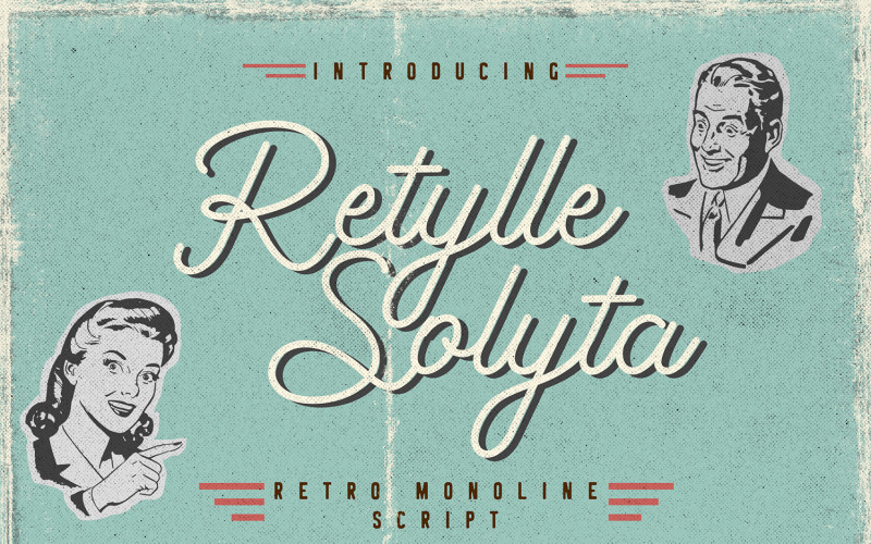Retylle Solyta Monoline Font
