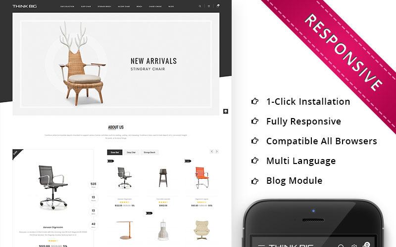 Thinkbig - шаблон OpenCart для супер-мебели