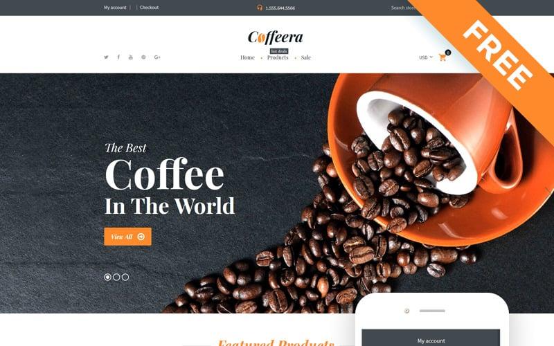 Coffeera - Coffee Shop Ready-to-Use Clean Shopify Theme