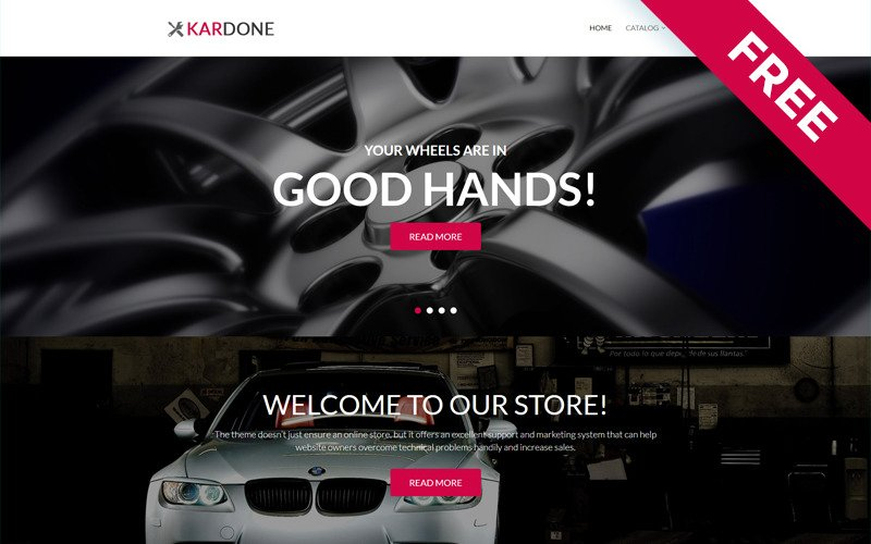 Kardone - Car Parts Free Clean Shopify Theme