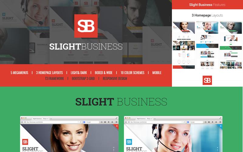 Slight Business - Responsive Corporate Joomla Template
