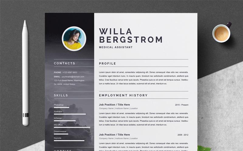Modello di curriculum Willa