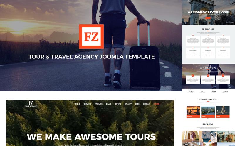FZ - Tour & Travel Agency Joomla Template