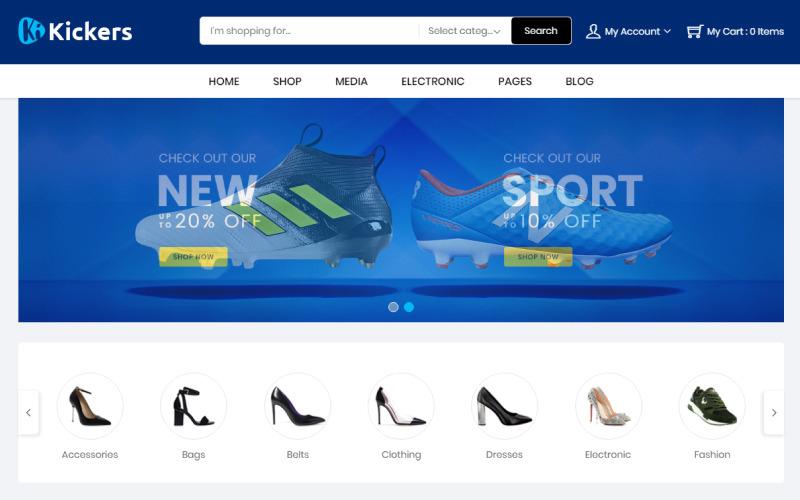 Kickers-schoenen WooCommerce-thema