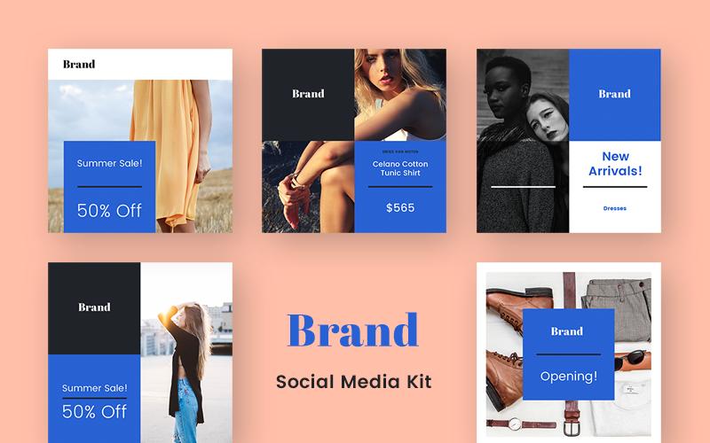 Brand  Kit Social Media Template