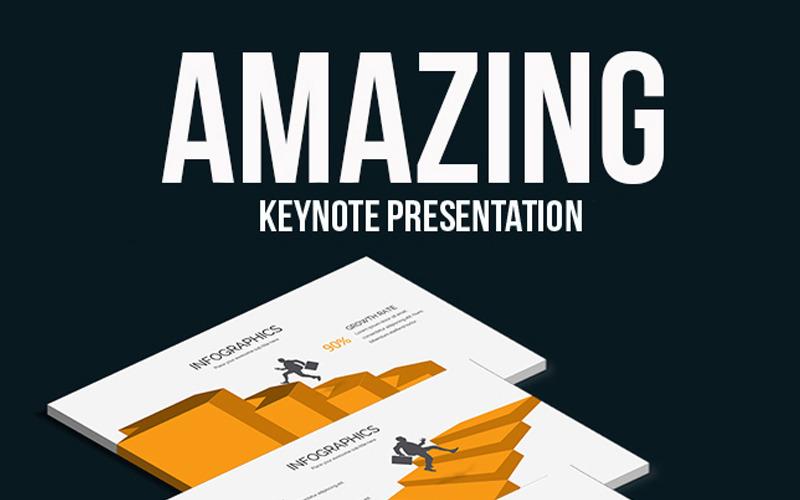 Erstaunliche Keynote-Präsentation - Keynote-Vorlage