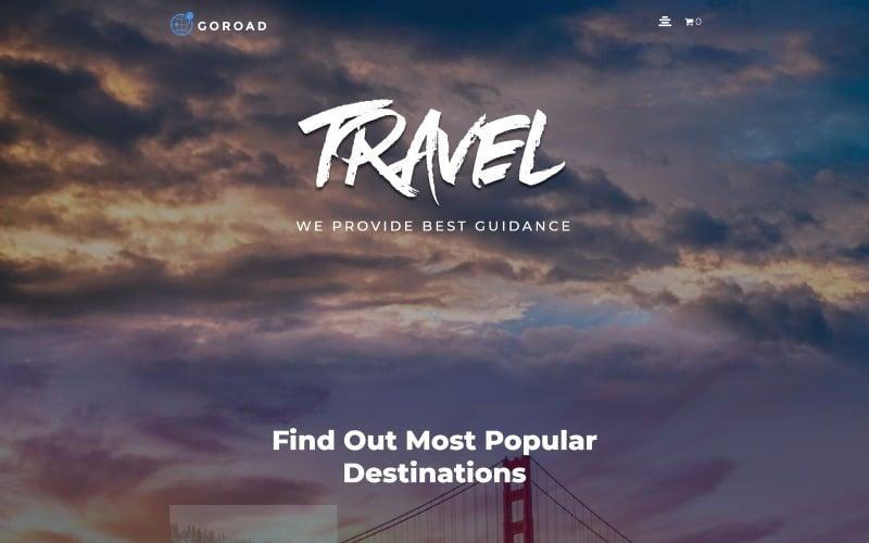 Goroad - Travel Agency Multipurpose Modern WordPress Elementor Theme