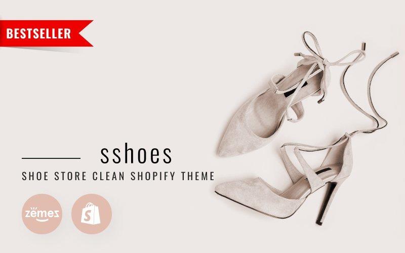 sshoes - Thème Shopify propre pour magasin de chaussures