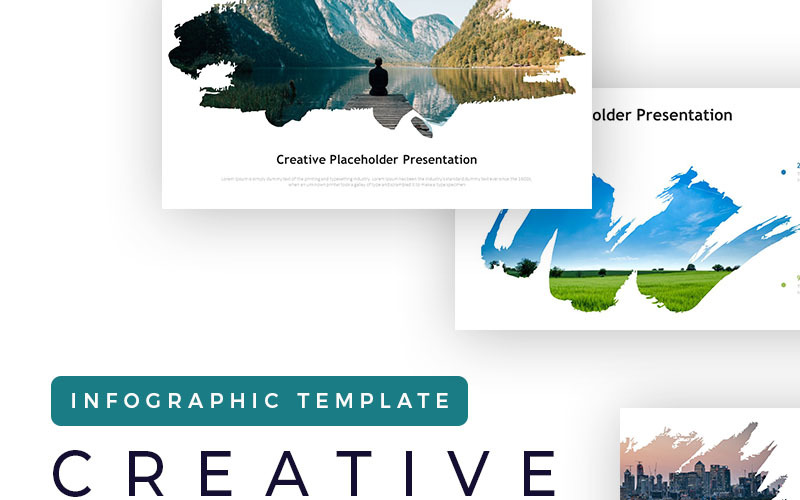 Creative Placeholder Presentation - Infographic PowerPoint template