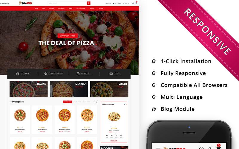 Pizzap - шаблон OpenCart для магазина пиццы
