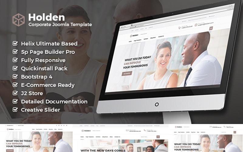 Holden - Corporate Business Joomla Template