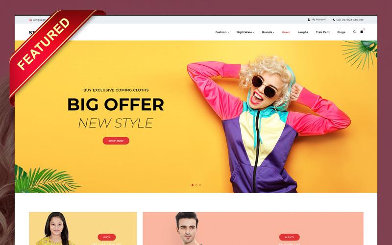 StarMode Fashion Store OpenCart Template