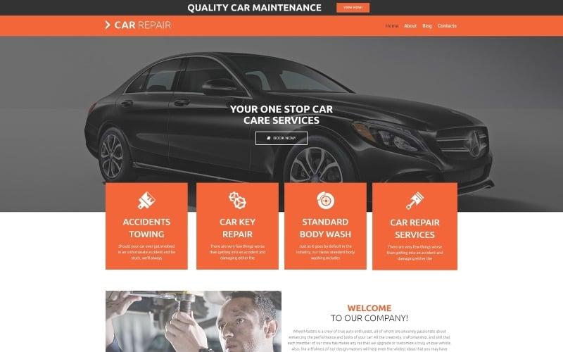 Thème WordPress de réparation de voiture lite