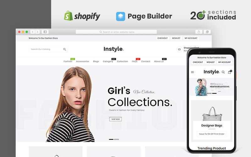 Instyle Fashion Shopify téma