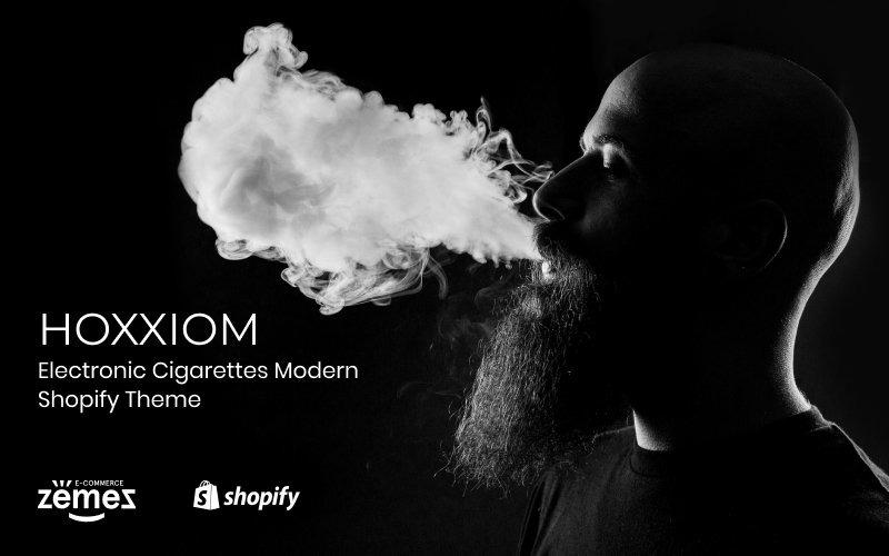 Hoxxiom - Electronic Cigarettes Modern Shopify Theme