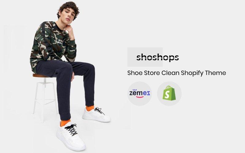 shoshops - Shoe Store Clean Shopify Theme