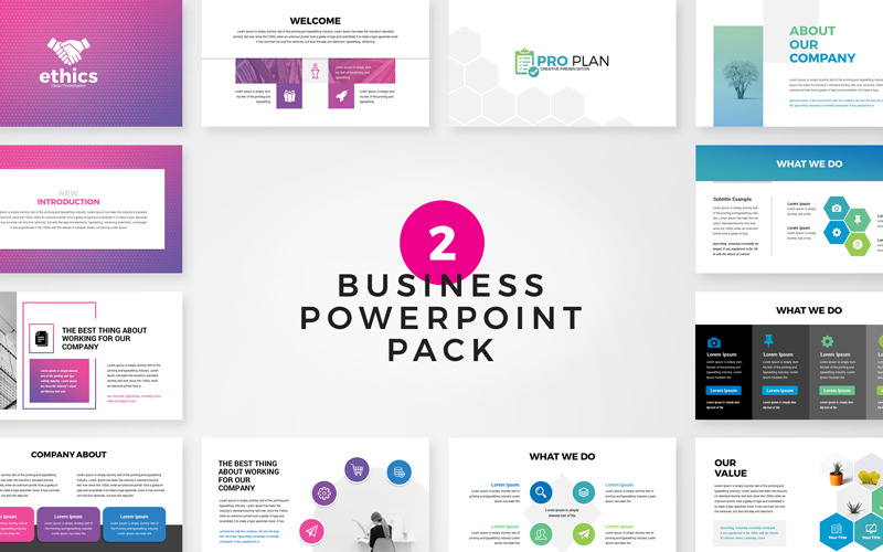 Ethice -  Business Pack PowerPoint Template