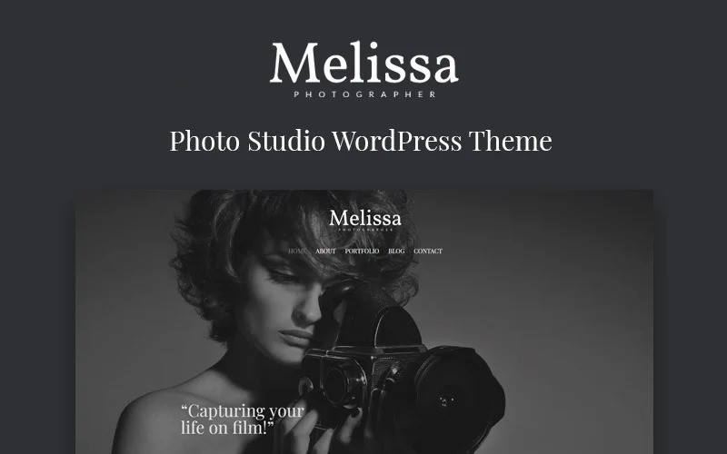 Melissa - Photography Multipurpose Creative WordPress Elementor Theme