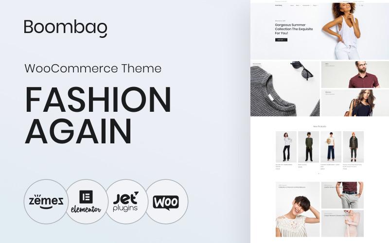 Boombag - Tema moderno do elemento de comércio eletrônico de vestuário WooCommerce