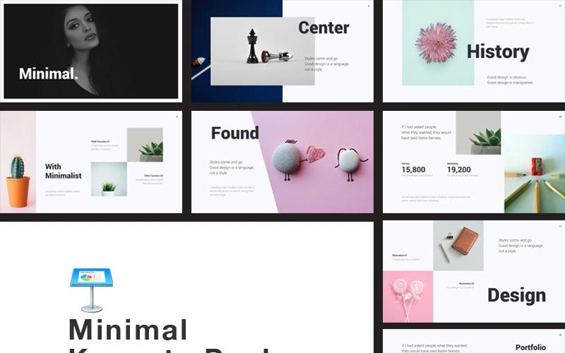 Creative I Minimal - Keynote template